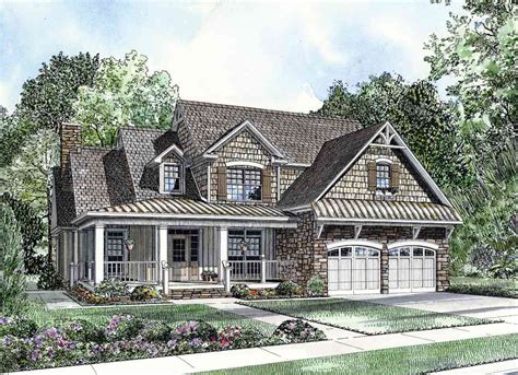 country home plans with front porch charming home plan 59789nd 1st floor master suite