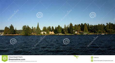 pacific northwest design royalty free stock photo image waterfront home on lake washington royalty free stock