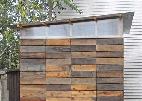 Reclaimed Wood Shed by Shed Made With Reclaimed Wood House Home