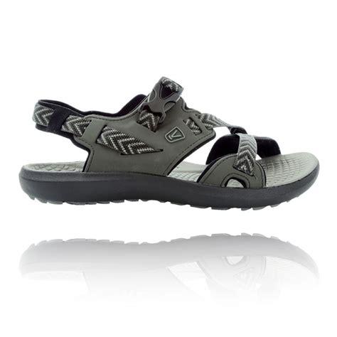 keen trekking sandals keen maupin mens grey outdoors walking hiking sandals