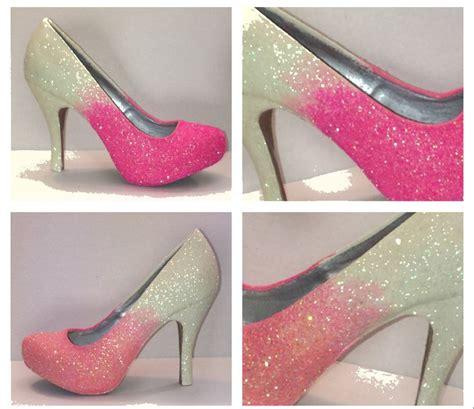 Promo Diskon Sandal Wedges Bunga Pink Wedges High Heels Flower Pink F pink ombre glitter heels wedding prom sweet 16 pumps shoes glitter shoe co