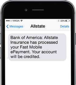 Fast Mobile e Payment   Allstate Insurance