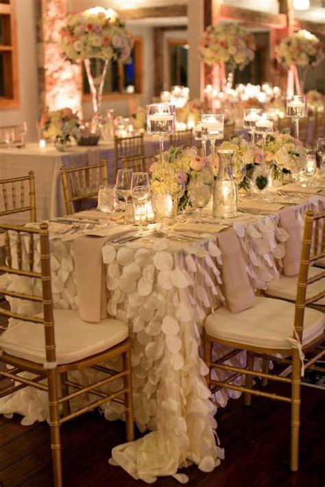 Decor   Draped Petal Table Linens #2029435   Weddbook