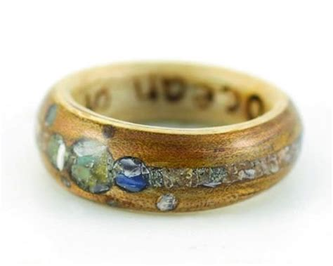 Wedding Ring Alternatives by Alternative Wedding Rings From Eco Wood Rings Crushed