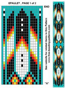 native american beaded belt patterns images