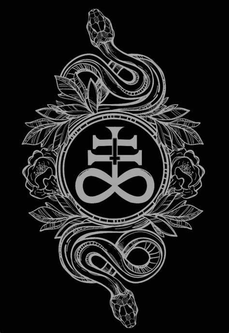 leviathan cross tattoo leviathan cross sigil of lucifer
