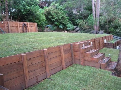 Original And Cost Effective Diy Retaining Ideas For Building Garden Wall