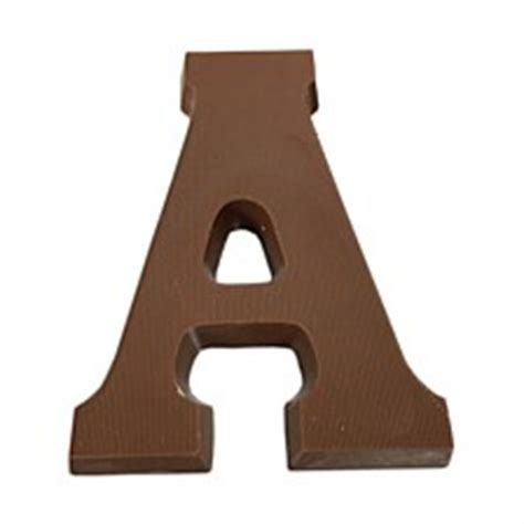 Letter Using Chocolate Chocolate Letters Shop At Chocolatetraders Co Nz