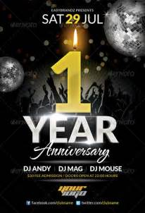 anniversary flyer template free top 25 anniversary flyer templates collection