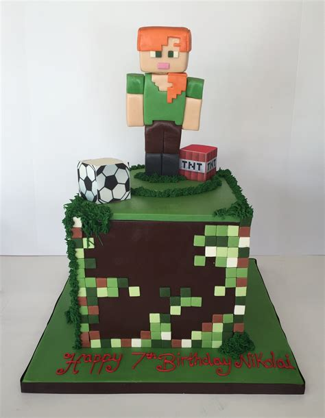 Minecraft Birthday Cakes   Cakes By Robin