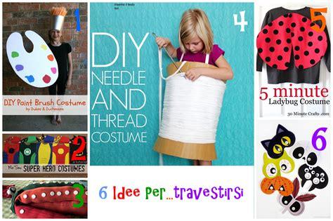 vestiti di carnevale facili da fare in casa costumi carnevale bambini fai da te