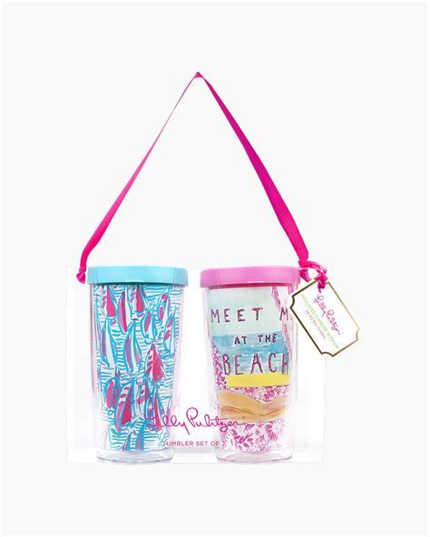Lilly Pulitzer Meet Me at the Beach and Red Right Return