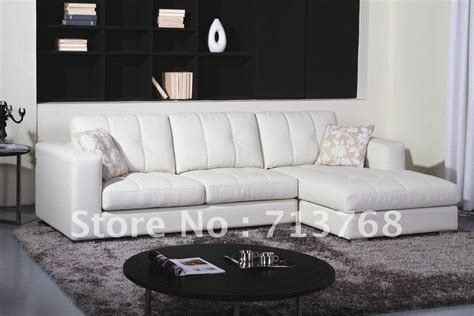 sofas en l modernos modern furniture living room leather lounge sectiona