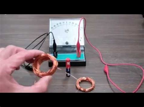 magnetic induction mini project faradays of induction