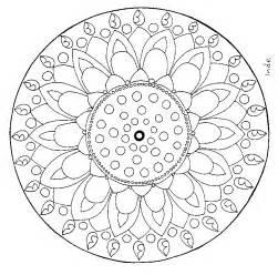 Mandala Enfant A Imprimer Az Coloriage