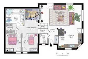 maison en demi niveaux d 233 du plan de en demi