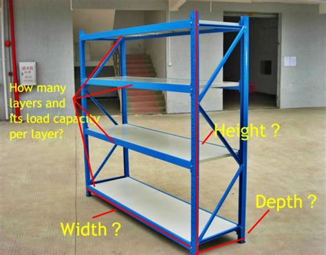 Small Parts Racking by Small Spare Parts 300kg Span Racking For Warehousing