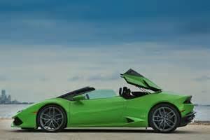 Lamborghini Hurracan 2016 Lamborghini Hurac 225 N Lp 610 4 Spyder Drive Review