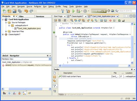 java netbeans xml tutorial java card development quick start guide netbeans ide