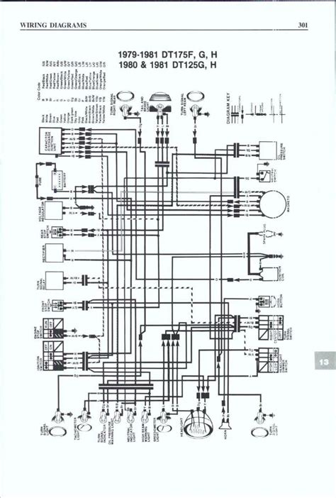 yamaha dt 175 wiring diagram wiring diagram with description