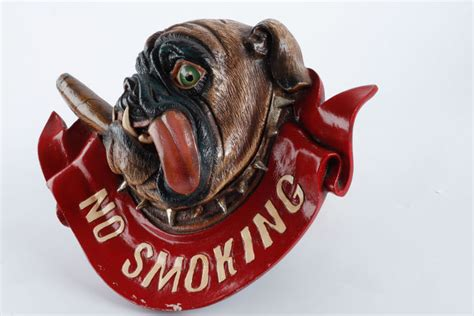 no smoking sign dog bull dog no smoking sign catawiki
