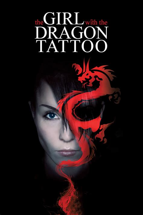 is the girl with the dragon tattoo in english millenium trilogy cover whiz