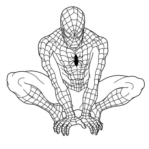 coloring pages of ultimate spider man top 20 spiderman coloring pages printable