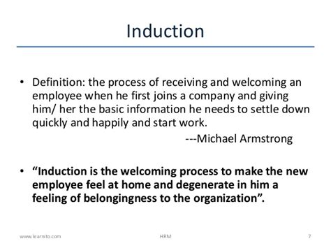 define induction day and induction