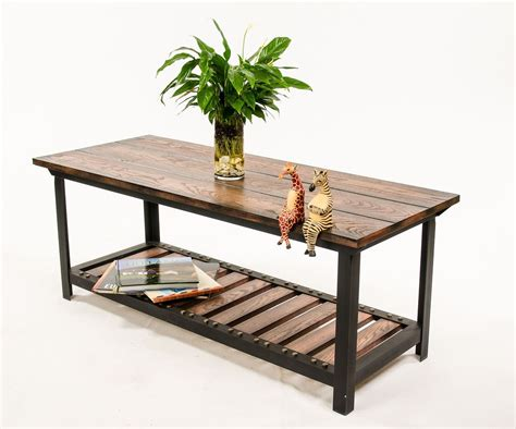 style a coffee table coffee table surprising industrial style coffee table