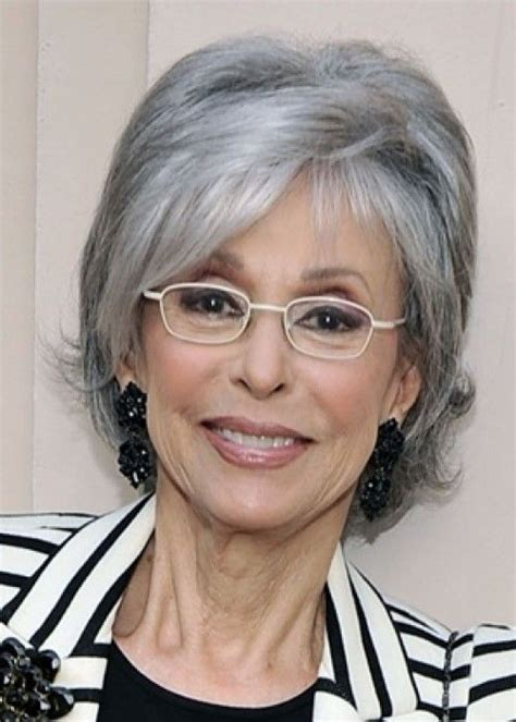 rita moreno pictures hair short hair with volume although she usually wears her