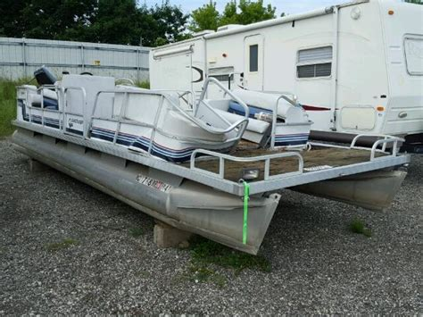 boat salvage yard monroe mi 1988 boat boat for sale at copart west palm beach fl lot