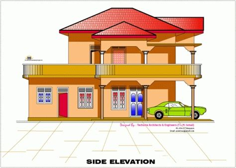home design engineer wonderful 2d elevation and floor plan of 2633 sqfeet