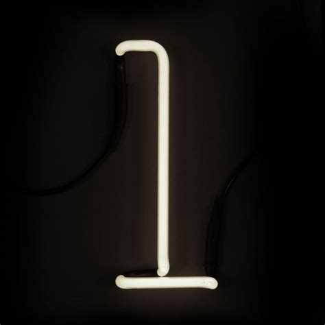 L With Light by Seletti Neon Wall Light Letter L Iwoot