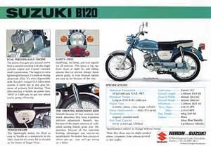 Suzuki Brochure Suzuki B120 Brochures