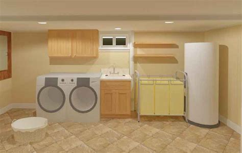 simple basement designs laundry room ideas beautiful best images about laundry
