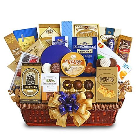 bed bath and beyond gift baskets office delights gift basket bed bath beyond