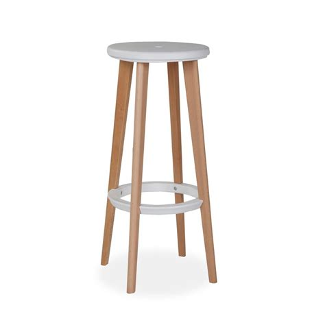 Wooden High Stool Pac Klein Business Furniture