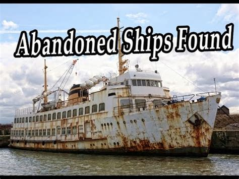 old abandoned ships found ghost ships wrecks haunted - Abandoned Boats Found At Sea