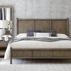 peninsula panel bed bassett home furnishings