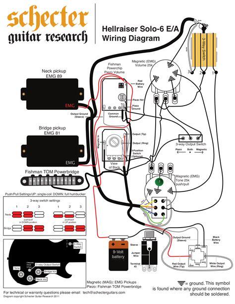 schecter guitar wiring diagrams wiring diagram midoriva