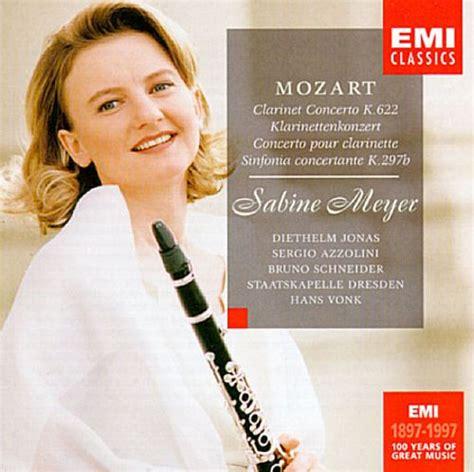 Mozart: Klarinettenkonzert; Sinfonia concertante   Sabine