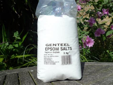 Epsom Salt Detox Drink by Epsom Salt Magnesium Sulphate Imported From Germany
