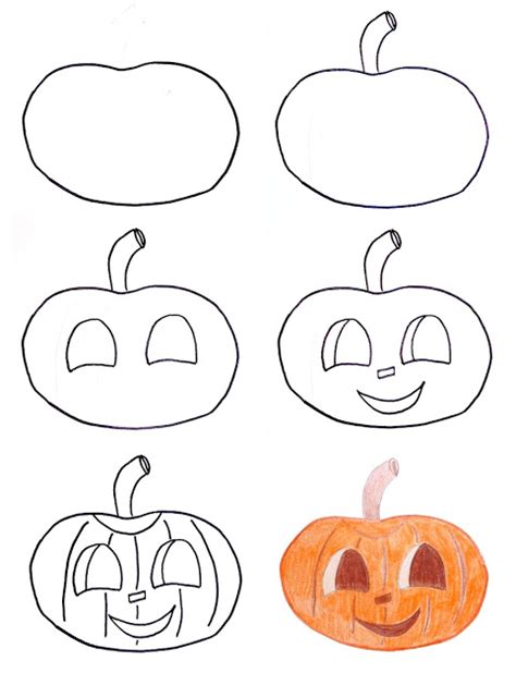 pumpkins to draw pippi s drawings for