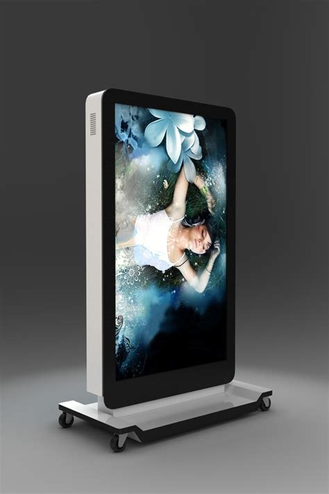 customized movable iphone shaped led display screenmobile digital signage monitor buy iphone