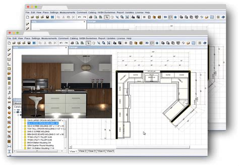 Kitchen Layout Design Software Prokitchen Software Kitchen Bathroom Design Software