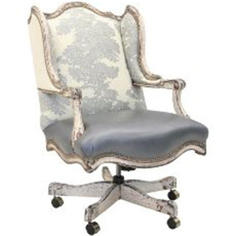 hickory tannery silver jacquard winged executive chair womens office chair