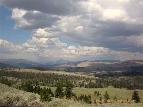 Wyoming Roundup Yellowstone Landscape