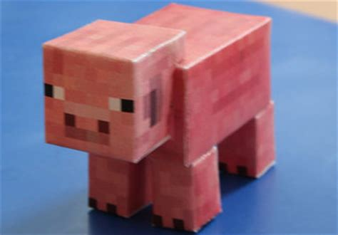 How To Make Minecraft Blocks Out Of Paper - make you your own minecraft pig creeper or material