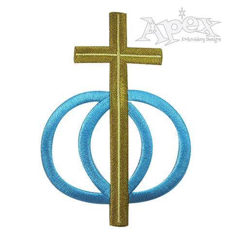 wedding rings embroidery design free cross wedding rings embroidery design apex embroidery