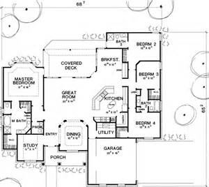 Austin Floor Plans by The Austin 2932 4 Bedrooms And 3 Baths The House Designers